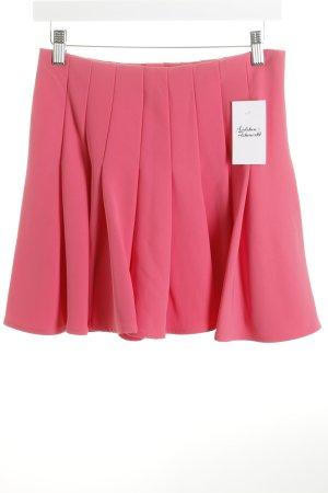 H&M Faltenrock pink extravaganter Stil