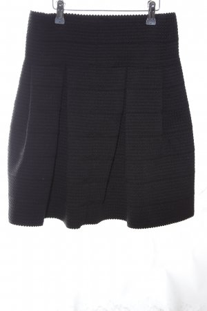 H&M Plaid Skirt black business style