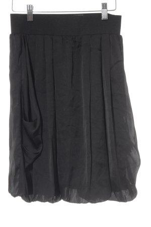 H&M Gonna a pieghe nero stile casual