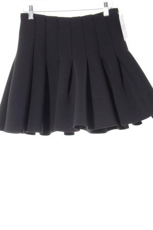 H&M Gonna a pieghe nero elegante