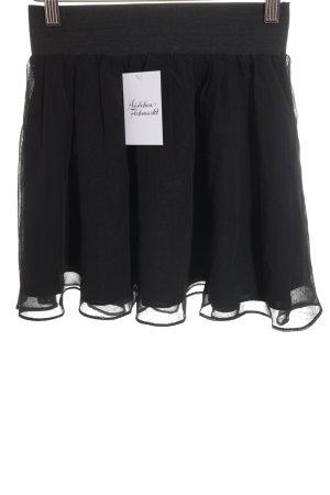 H&M Jupe à plis noir style festif