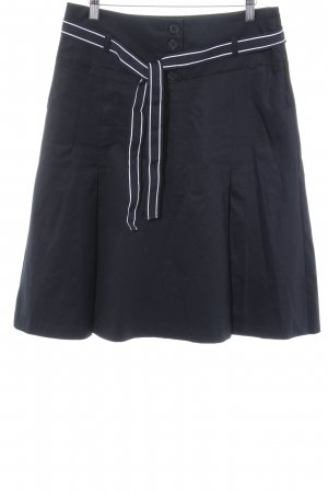 H&M Plaid Skirt black-white Brit look