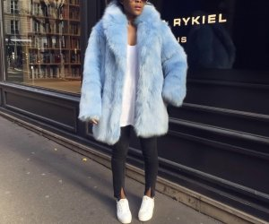 H&M Faux fur - gr. S