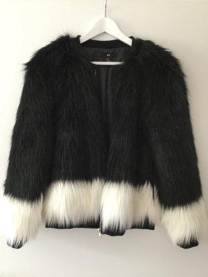 H&M Faux-Fur-Jacke Kunstfell