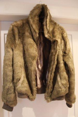 H&M Felljacke Fake Fur Gr. 38/40