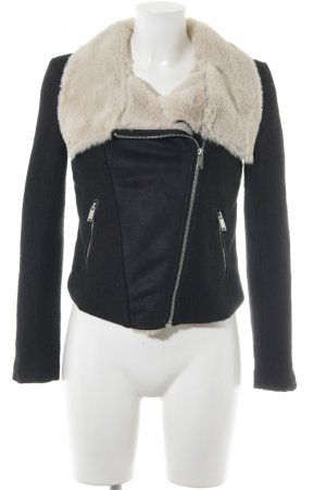 H&M Fur Jacket multicolored street-fashion look