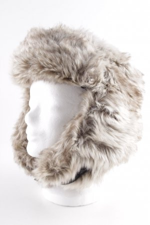 H&M Fur Hat light brown casual look