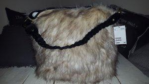 H&M - Felltasche  (fake-fur) - neu