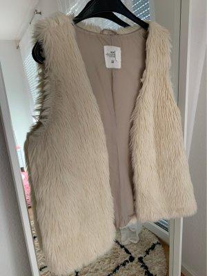 H&M Fellweste Faux Fur kuschelig edel