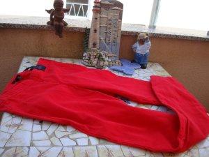 H&M  FESTIVAL-STYLE Damen SKINNY-Jeans 25/26 Grösse 34 XS/S Stretchjeans rot red used-Style Neupreis 39,95 € Boho Boheme, Hippie... Neu Gerne Preisvorschläge!!!