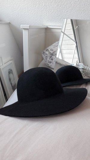 H&M Divided Felt Hat black
