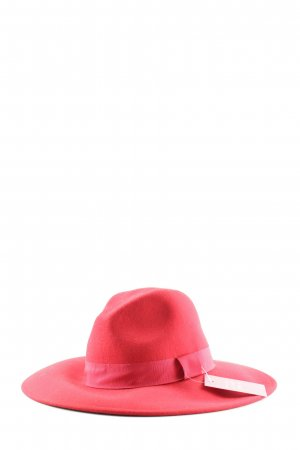 H&M Felt Hat red casual look