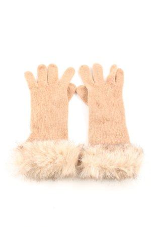 H&M Fingerhandschuhe nude Casual-Look
