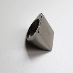 H&M Fingerring, metall/silber