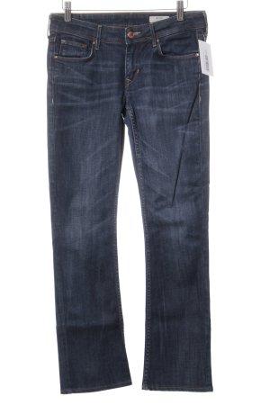 H&M Five-Pocket-Hose dunkelblau Casual-Look