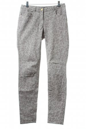 H&M Five-Pocket-Hose grau Leomuster Casual-Look