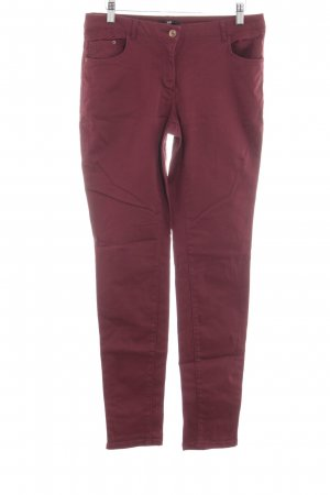 H&M Five-Pocket Trousers red casual look