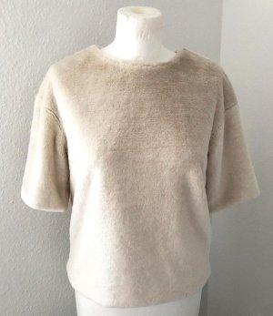H&M Flauschiger Pullover mit 1/2-Arm, Gr. XS