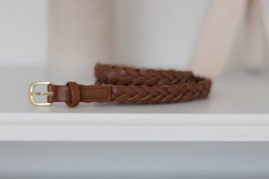 H&M Braided Belt cognac-coloured no material specification existing