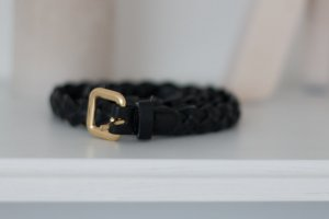 H&M Braided Belt black no material specification existing