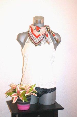 H&M Flower Tuch Edel Design Blumen Baumwolle
