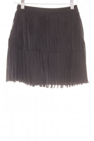 H&M Gonna con frange nero Stile Boho