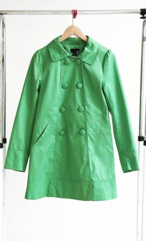 H&M Frühlingsmantel grasgrün