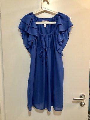 H&M Garden Collection Vestido tipo túnica azul aciano-azul acero