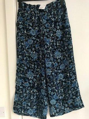 Alexander Wang for H&M Pantalone culotte blu acciaio-blu fiordaliso
