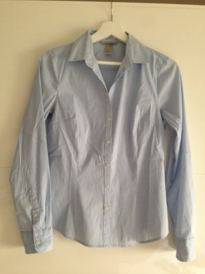 H&M_gestreifte basic Bluse