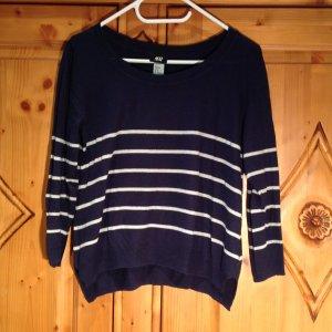 H&M gestreiftes Sweatshirt in M
