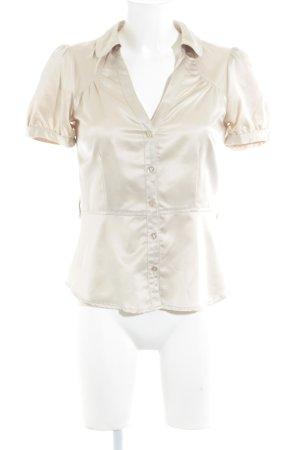 H&M Blouse brillante beige clair style décontracté