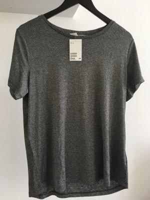 H&M Glitzer Shirt