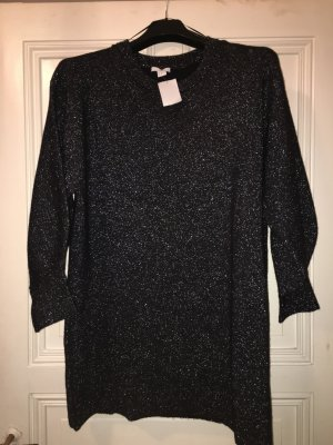 H&M Sweater Dress silver-colored-grey