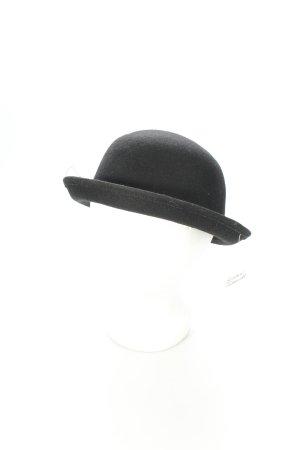 H&M Glockenhut schwarz 20ies-Stil