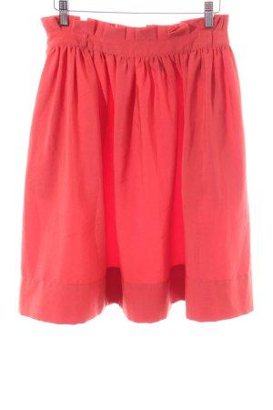 H&M Jupe évasée rouge style décontracté