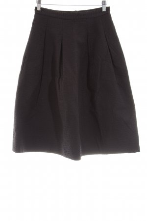 H&M Flared Skirt black business style