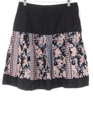 H&M Jupe évasée motif floral style décontracté