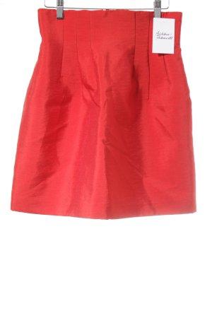 H&M Falda acampanada rojo elegante