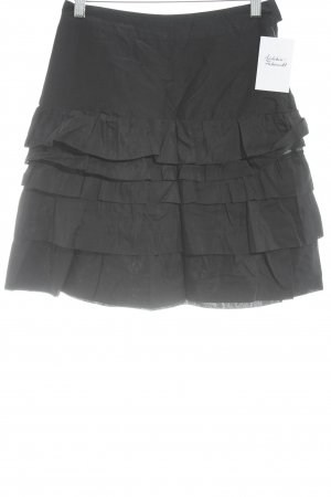 H&M Jupe évasée noir style décontracté