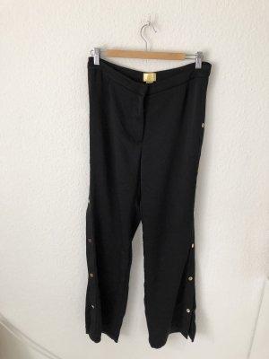 H&M Pantalón de cintura alta negro