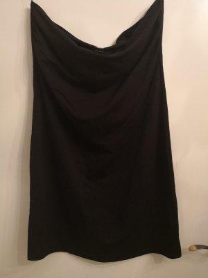 H&M Bandeaujurk zwart