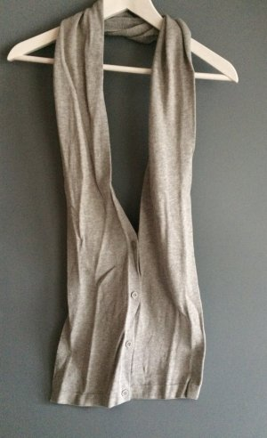 H&M Grey Scarf with Buttons