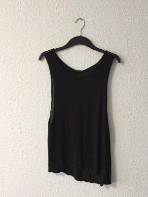 H&M grey schwarzes Oberteil XS