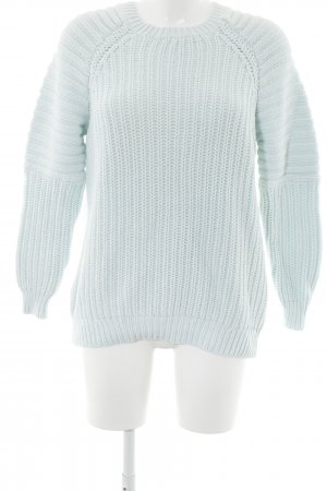 H&M Grobstrickpullover mint Casual-Look
