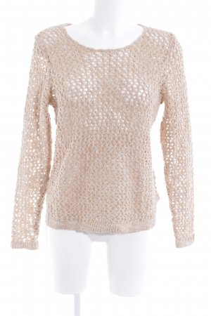 H&M Grobstrickpullover nude-goldfarben Casual-Look