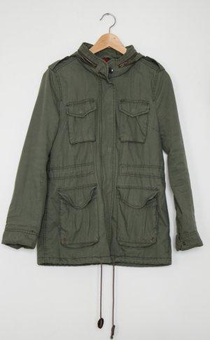 H&M Divided Military Jacket khaki
