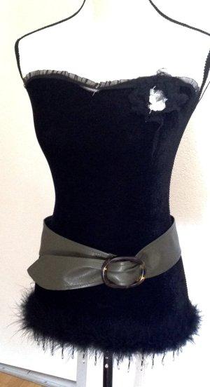 Hip Belt khaki imitation leather