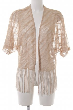 H&M Cardigan all'uncinetto color oro rosa stile casual