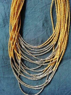 H&M Halskette Kette Necklace Collier XXL Statement